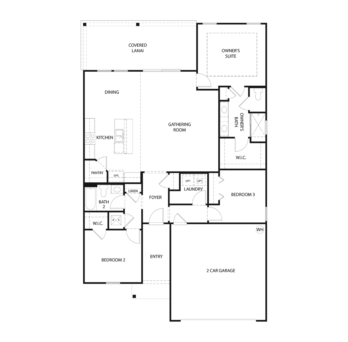 Floor Plans in San Salito in St