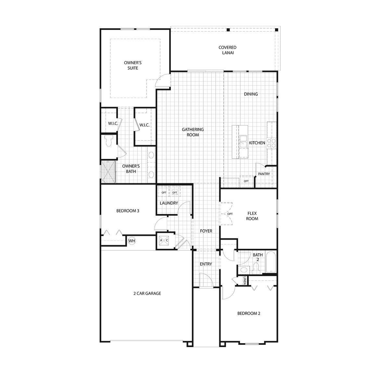 Floor Plans In San Salito In St Augustine Fl