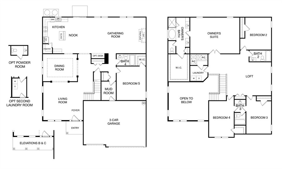 Floor Plans In San Salito In St. Augustine, FL